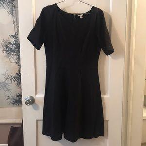 J. Crew black jersey dress